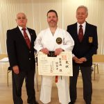 Tony Grainger Sensei, Garry Smith & Denis Casey Sensei