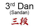 3rd Dan