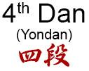 4th Dan (Yondan)