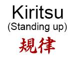 Kiritsu (Rise)