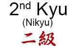2nd Kyu