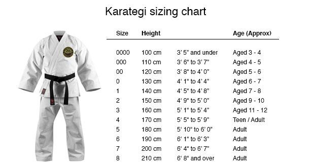 Karategi_size_chart